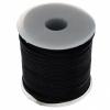 Cord Waxed 1mm Black